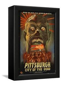 Pittsburgh, Pennsylvania - Zombie Day of the Dead by Lantern Press