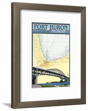 Port Huron, Michigan - Nautical Chart