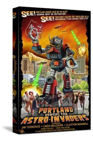 Portland, Oregon vs. The Astro-Invaders