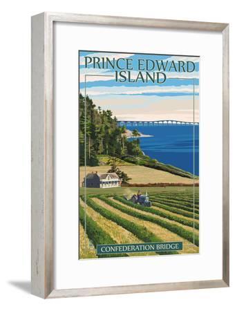 Prince Edward Island - Confederation Bridge and Farm