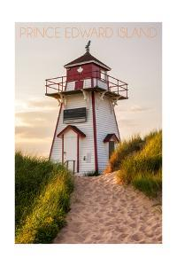 Prince Edward Island - Covehead Lighthouse and Dune by Lantern Press