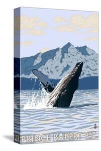 Prince Rupert, BC Canada - Humpback Whale by Lantern Press