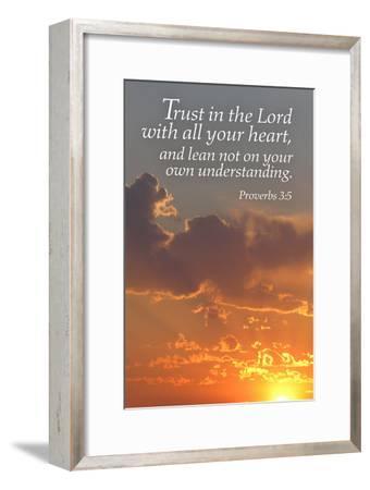 Proverbs 3:5 - Inspirational