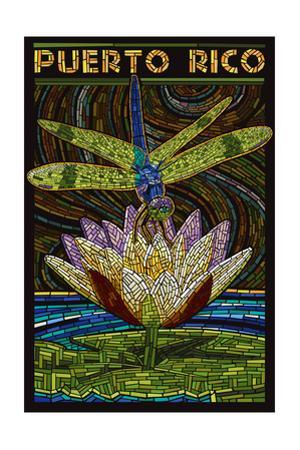 Puerto Rico - Dragonfly Mosaic
