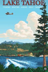 Recreation, Lake Tahoe, California by Lantern Press
