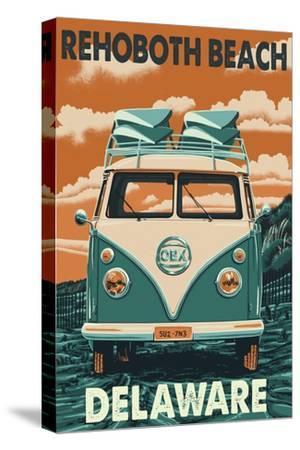 Rehoboth Beach, Delaware - VW Van