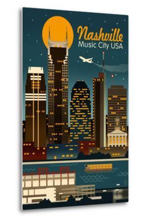 Retro Skyline - Nashville, Tennessee