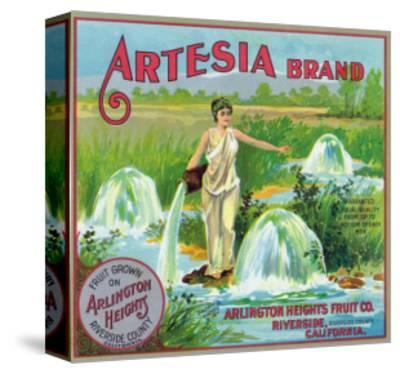 Riverside, California, Artesia Brand Citrus Label
