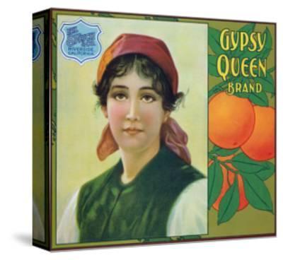 Riverside, California, Gypsy Queen Brand Citrus Label