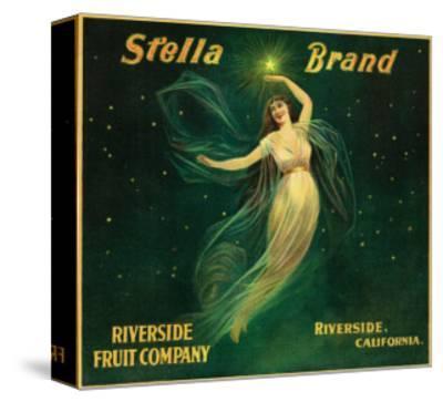 Riverside, California, Stella Brand Citrus Label