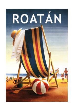 Roatan - Beach Chair and Ball