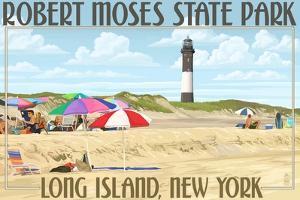 Robert Moses State Park, Long Island, New York by Lantern Press
