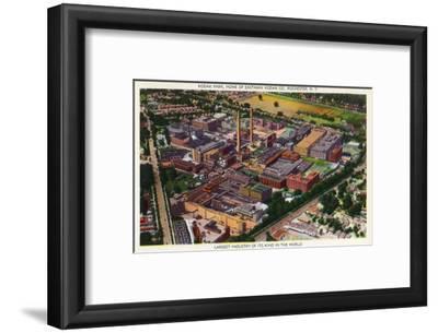 Rochester, New York - Aerial View of Kodak Park