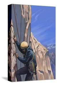 Rock Climber by Lantern Press