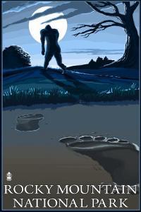 Rocky Mountain National Park, Co - Bigfoot, c.2009 by Lantern Press