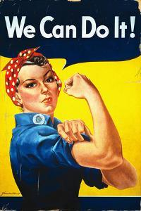 Rosie the Riveter - We Can Do It! - Poster by Lantern Press