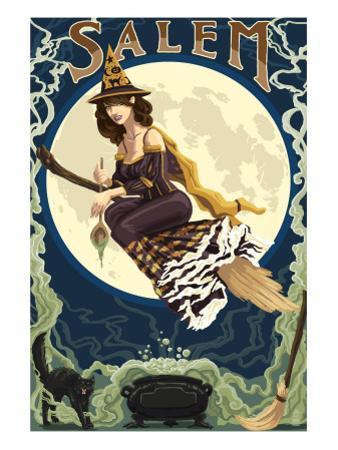Salem, Massachusetts - Witch Scene