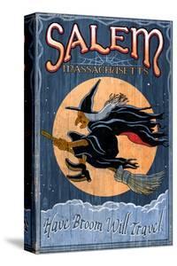 Salem, Massachusetts - Witch by Lantern Press