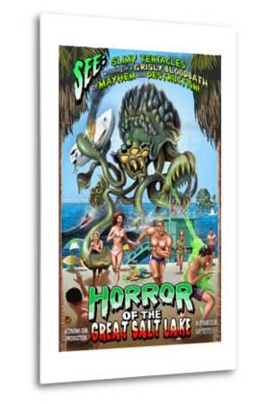 Salt Lake City, Utah - Alien Attack Horror by Lantern Press