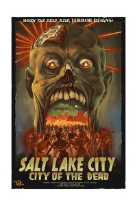 Salt Lake City, Utah - City of the Dead by Lantern Press