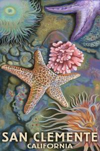 San Clemente, California - Tidepool by Lantern Press