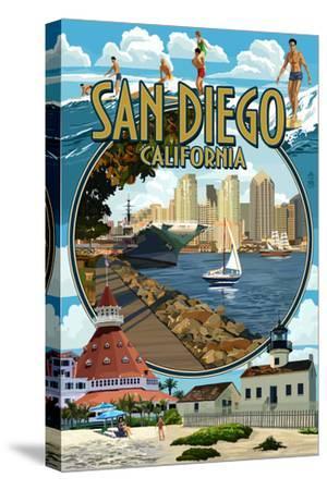 San Diego, California Montage