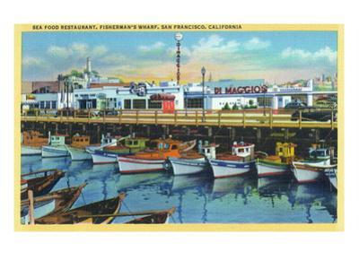 San Francisco, California - Dimaggio's Restaurant on Fisherman's Wharf