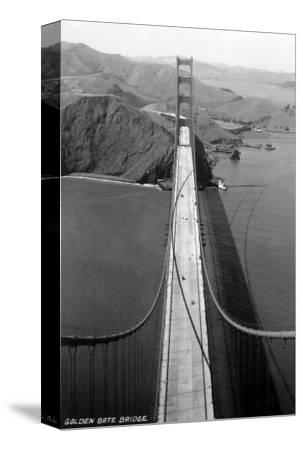 San Francisco, California - Golden Gate Bridge from Bridge Pinnacle