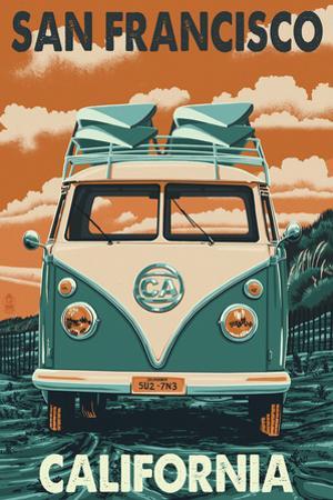 San Francisco, California - VW Van