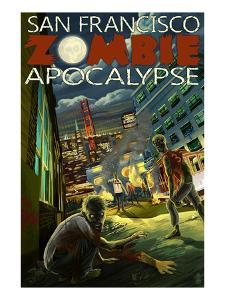 San Francisco Zombie Apocalypse by Lantern Press
