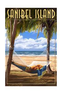 Sanibel Island, Florida - Hammock by Lantern Press