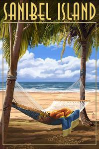 Sanibel Island, Florida - Hammock by Lantern Press
