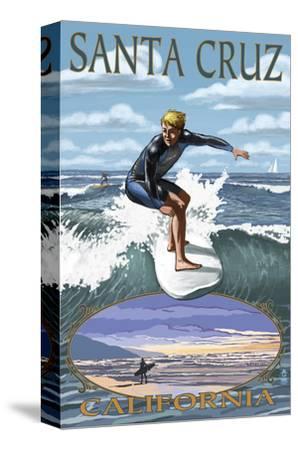 Santa Cruz, California - Day Surfer