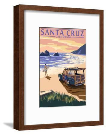 Santa Cruz, California - Woody on Beach