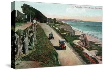 Santa Monica, California - View of the Palisades