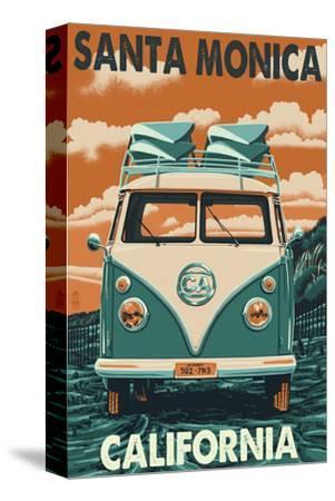 Santa Monica, California - VW Van
