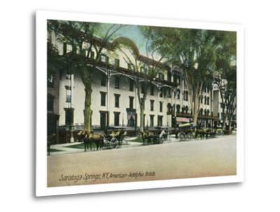 Saratoga Springs, New York - American-Adelphia Hotel Buildings