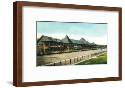 Saratoga Springs, New York - Race Course Grand Stand View