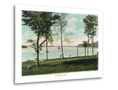 Saratoga Springs, New York - View of Saratoga Lake
