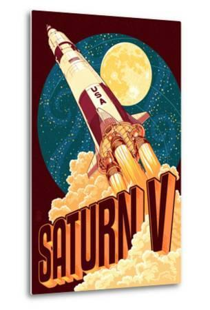Saturn V Styalized
