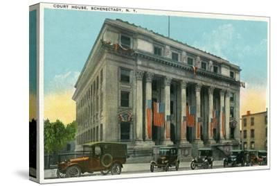 Schenectady, New York - Court House Exterior View