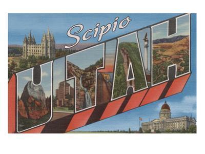 Scipio, Utah - Large Letter Scenes