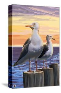 Sea Gulls by Lantern Press