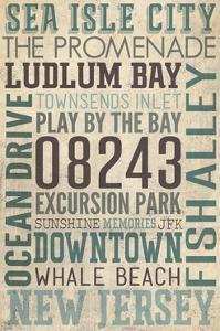 Sea Isle City, New Jersey by Lantern Press