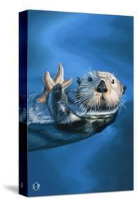 Sea Otter by Lantern Press