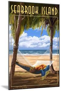 Seabrook Island, South Carolina - Hammock and Palms by Lantern Press