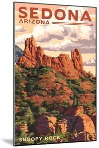 Sedona, Arizona - Snoopy Rock by Lantern Press