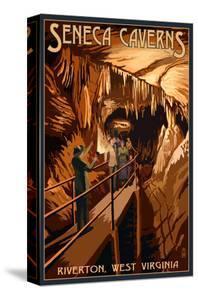 Seneca Caverns - Riverton, West Virginia by Lantern Press