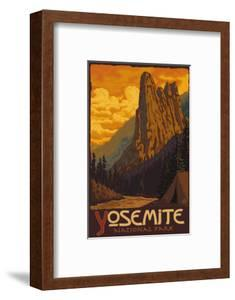 Sentinel, Yosemite National Park, California by Lantern Press