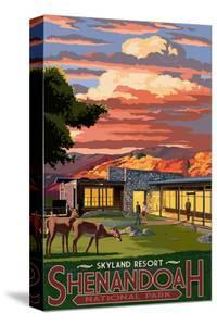 Shenandoah National Park, Virginia - Skyland Resort by Lantern Press